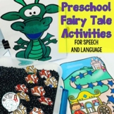 Preschool Fairy Tale Activities for Speech and Language