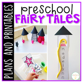 Preschool: Fairy Tales {Plans and Printables}