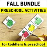 Preschool Activities - Fall Themed