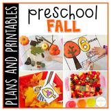 Preschool: Fall {Plans and Printables}