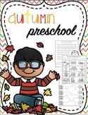Preschool Fall Printables FREEBIE!