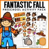 Preschool: Fall Theme Learning Pack