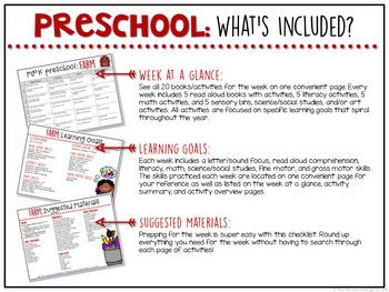 Preschool: Farm {Plans and Printables}