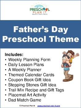 Preschool Father's Day Theme