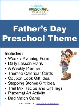 Preschool Father's Day Theme