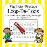 Preschool Fine Motor Skills Loop De Loos