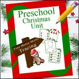 Preschool Fine Motor Skills Practice | Christmas Themed