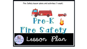 Preschool Fire Safety Themed lesson plan