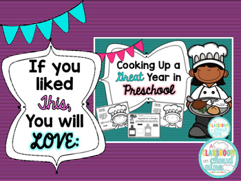 Preschool First Day of School Hat and Sign No Prep Freebie! {Cooking Themed}