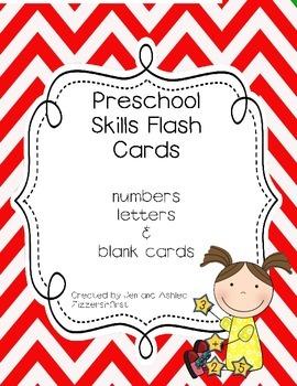 Preschool Flash Cards