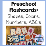 Preschool Flashcards: Shapes, Colors, Numbers, ABC's