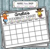 Preschool Flexibility Chart
