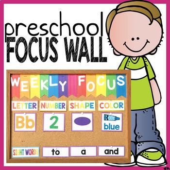 Preschool Focus Wall