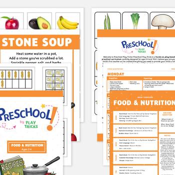 Preschool- Food & Nutrition Unit