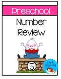 Preschool Number Review