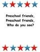 Preschool Friends Class Book