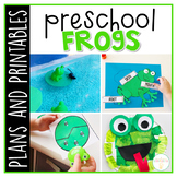 Preschool: Frogs {Plans and Printables}
