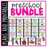 Preschool: Full Year Curriculum {Plans and Printables} BUNDLE