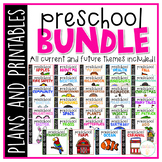 Preschool: Full Year Curriculum {Plans and Printables} BUNDLE