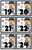 Preschool Fun theme Calendar Cover-Ups / Memory Game - Cla