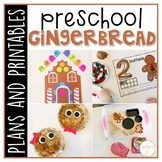 Preschool: Gingerbread {Plans and Printables}