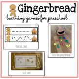 Preschool Gingerbread Activities