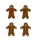 Preschool Gingerbread Color Matching
