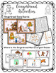 Gingerbread Emergent Reader and Games