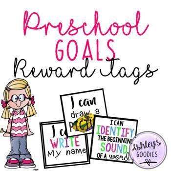 Preschool Goals Brag Tags