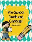Preschool Goals Checklist