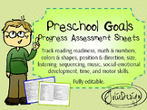 Preschool Goals and Assessment Form