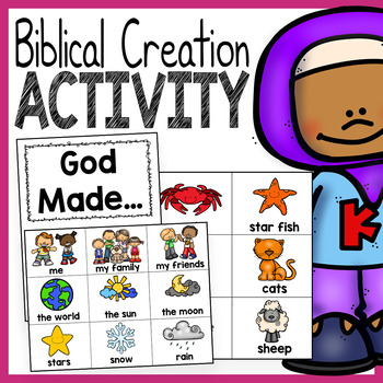 """God Made"" Creation Activity"