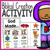 """God Made"" Creation Activity - Preschool Bible Lesson"