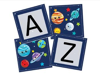 Out of This World Preschool Banner, Graduation Banner