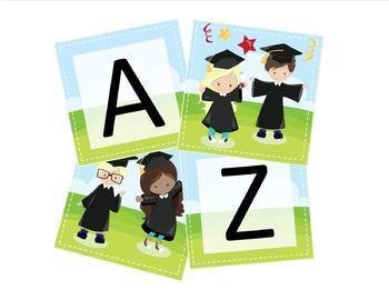 Preschool Graduation Banner, Graduation Banner