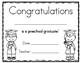 Preschool Graduation Certificate & Invitation Packet
