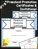 Preschool Graduation Certificates | Preschool Diplomas | Pre K Diplomas