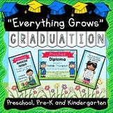 Graduation Diplomas, Invitations, Program, Poems, Songs and more EDITABLE PDF