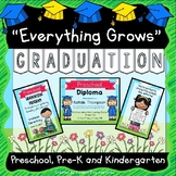 Graduation Diplomas, Invitations, Program, Poems, Songs and more EDITABLE PDF
