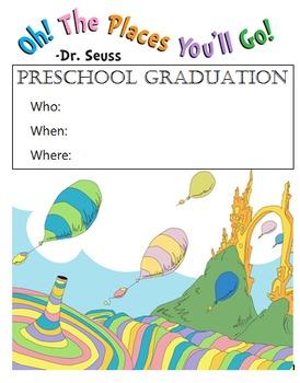 Preschool Graduation Flyer/Invitation