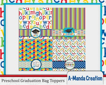 Preschool Graduation Printable Bag Toppers