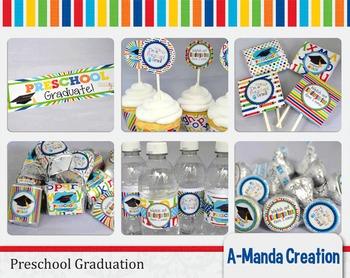 Preschool Graduation Printable Bundle