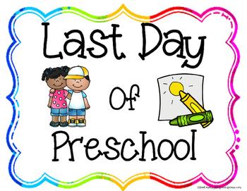Editable Preschool Graduation/Celebration Printables