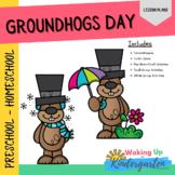 Groundhogs Day Preschool Activities   Lessons-Comprehensio