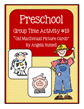 Old MacDonald Picture Cards
