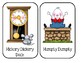 "Preschool Group Time Activity - ""Nursery Rhyme Cards"""