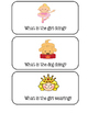 """Preschool Group Time Activity #6 ~ """"What"""" Questions!"""