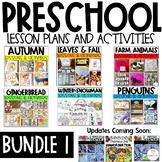 Preschool Centers and Activities Bundle