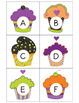 Preschool Halloween Cupcake Letter Match (Uppercase & Lowercase)