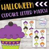 Preschool Halloween Cupcake Letter Match (Uppercase & Lowercase)
